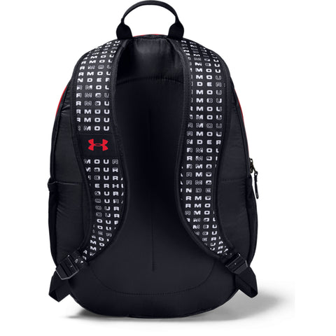 UNDER ARMOUR SCRIMMAGE 2.0 BACKPACK BLK/RED