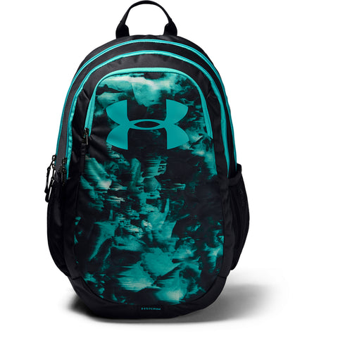 UNDER ARMOUR SCRIMMAGE 2.0 BACKPACK BLK/WHT/BLU