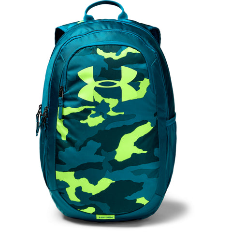 UNDER ARMOUR SCRIMMAGE 2.0 BACKPACK TEAL RUSH/TEAL VIBE
