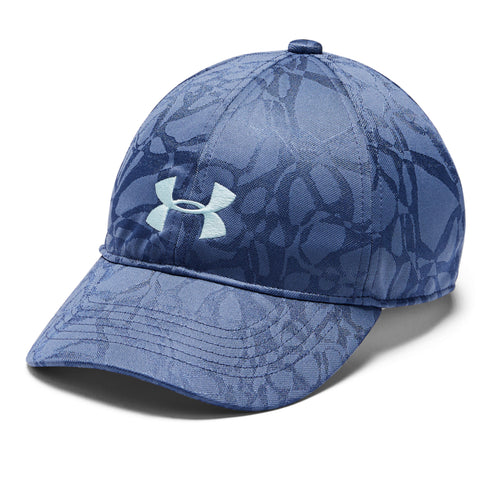 UNDER ARMOUR GIRL'S UA PLAY UP CAP HUSHED BLUE