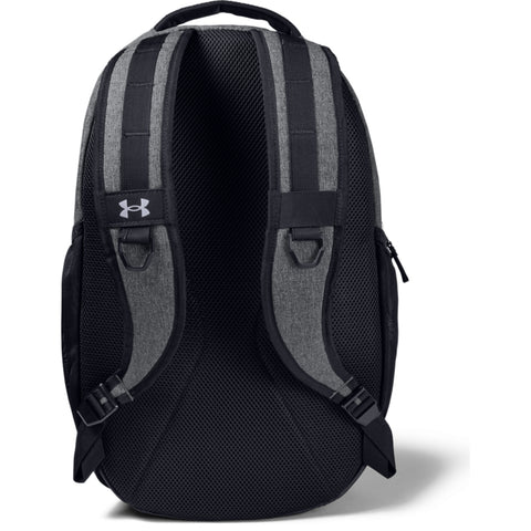 UNDER ARMOUR HUSTLE 5.0 BACKPACK BLACK/GRAPHITE