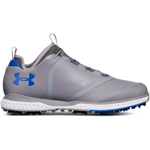 UNDER ARMOUR MEN'S TEMPO SPORT 2 GOLF CLEAT GREY
