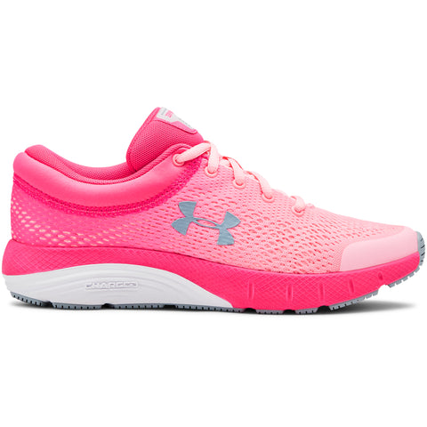 UNDER ARMOUR GIRLS GRADE SCHOOL BANDIT 5 KIDS SHOE MIDNIGHT/PINK/PINK/SILVER