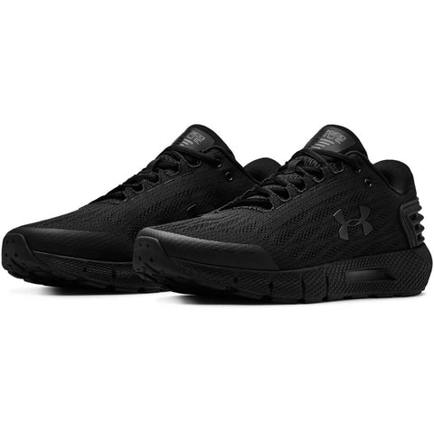 UNDER ARMOUR MEN'S CHARGED ROGUE WIDTH 4E RUNNING SHOE BLACK