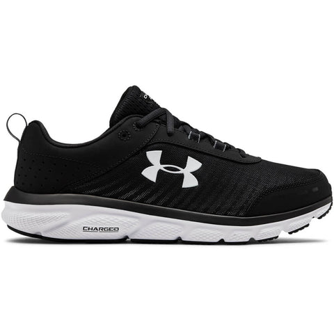 UNDER ARMOUR MEN'S CHARGED ASSERT 8 WIDTH 4E RUNNING SHOE BLACK