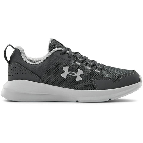 UNDER ARMOUR BOYS GRADE SCHOOL ESSENTIAL VERSA KIDS SHOE GREY/GREY/GREY