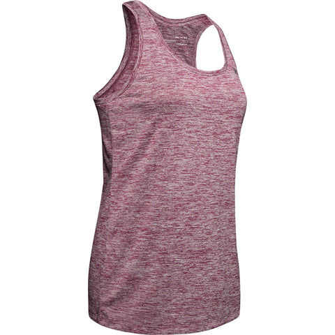 UNDER ARMOUR WOMEN'S TECH TANK TWIST LEVEL PURPLE