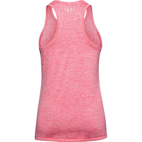 UNDER ARMOUR WOMEN'S TECH TANK TWIST PINK LEMONADE