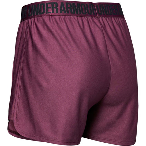 UNDER ARMOUR WOMEN'S PLAY UP SHORT 2.0 PURPLE