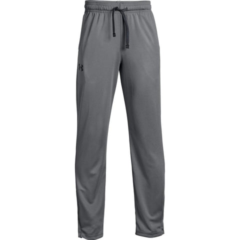 UNDER ARMOUR BOY'S TECH PANT GRAPHITE