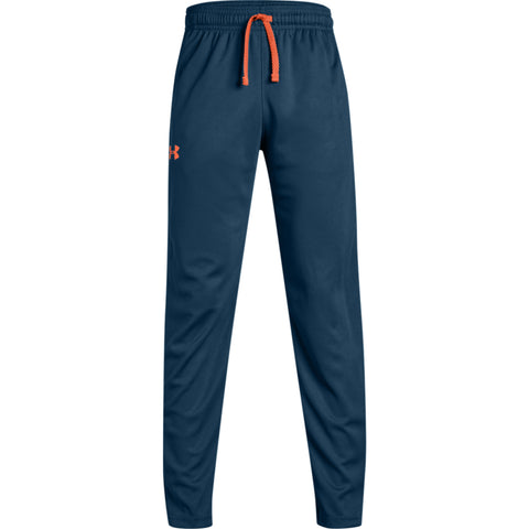 UNDER ARMOUR BOY'S TECH PANT TECHNO TEAL