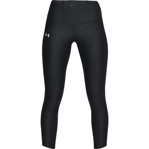 UNDER ARMOUR WOMEN'S ARMOUR FAST FLY CROP BLACK/REFLECTIVE