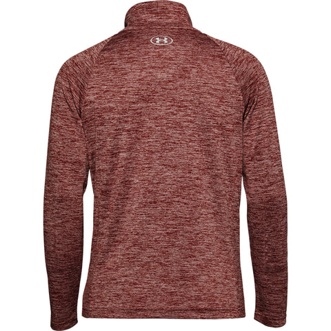 UNDER ARMOUR WOMEN'S TECH TWIST FULL ZIP RED