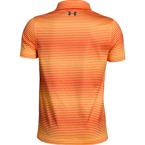 UNDER ARMOUR BOYS' TOUR TIPS NOVELTY SHORT SLEEVE POLO ORANGE