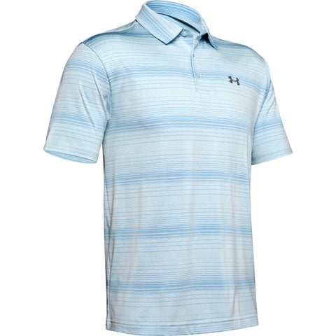 UNDER ARMOUR MEN'S PLAYOFF 2.0 POLO CODED BLUE/BOHO BLUE/PITCH GREY