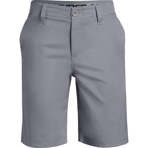 UNDER ARMOUR BOY'S MATCH PLAY 2.0 SHORT GREY