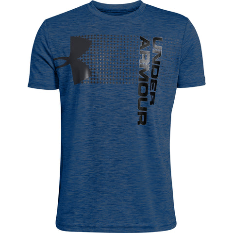 UNDER ARMOUR BOY'S CROSSFADE TEE ROYAL