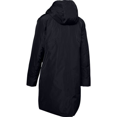 UNDER ARMOUR WOMEN'S UNSTOPPABLE DOWN PARKA BLACK