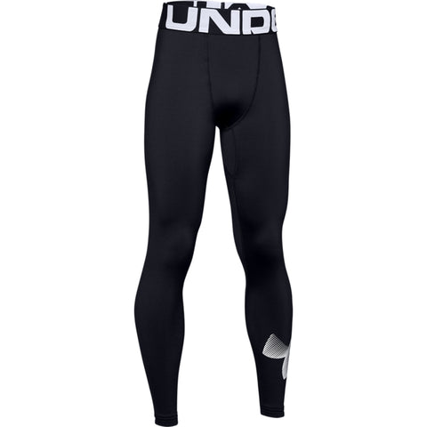 UNDER ARMOUR BOY'S COLDGEAR ARMOUR LEGGING BLACK