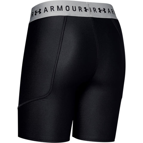 UNDER ARMOUR WOMEN'S BLACK SOFTBALL SLIDER SHORT