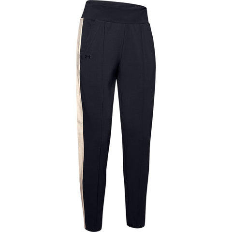 UNDER ARMOUR WOMEN'S FAVORITE LOOSE TAPERED PANT BLACK
