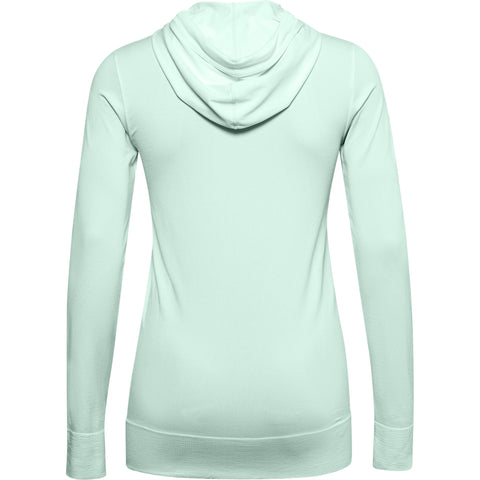 UNDER ARMOUR WOMEN'S SEAMLESS HOODY BLUE