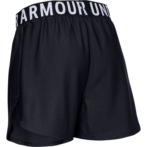 UNDER ARMOUR GIRL'S PLAY UP SOLID SHORT BLACK