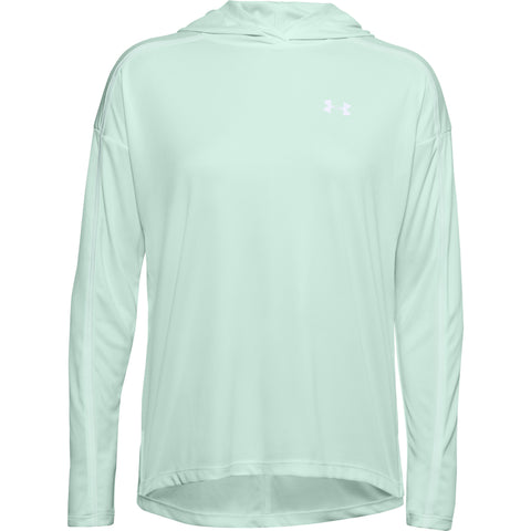 UNDER ARMOUR WOMEN'S TECH TWIST GRAPHIC HOODY BLUE