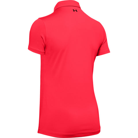 UNDER ARMOUR WOMEN'S ZINGER SHORT SLEEVE POLO BETA