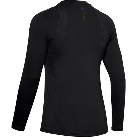 UNDER ARMOUR WOMEN'S RUSH LONG SLEEVE BLACK