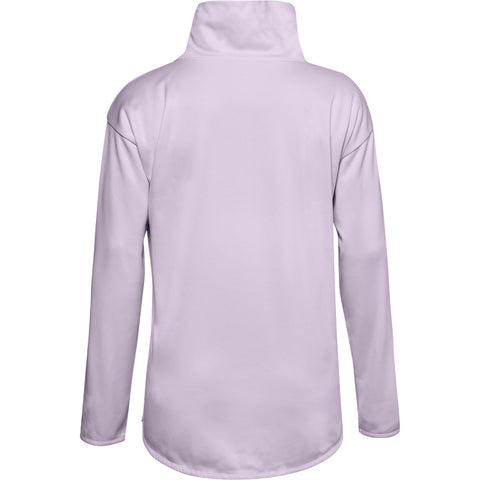 UNDER ARMOUR WOMEN'S ARMOUR FLEECE FUNNEL NECK CRYSTAL LILAC