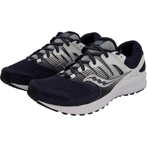 SAUCONY MEN'S TORNADO 2 RUNNING SHOE NAVY/WHITE