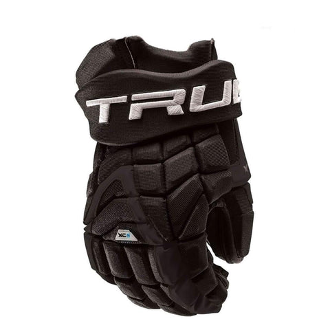 TRUE XC5 JR HOCKEY GLOVES 12 INCH BLACK