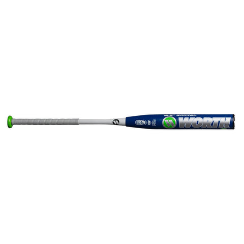 WORTH 2018 EST COMP HYBRID XL 27OZ USSSA SLOWPITCH BAT