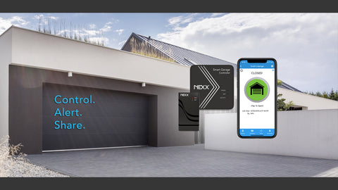 No WiFi? No Problem! Enjoy Next-Generation Garage Door Automation by Nexx