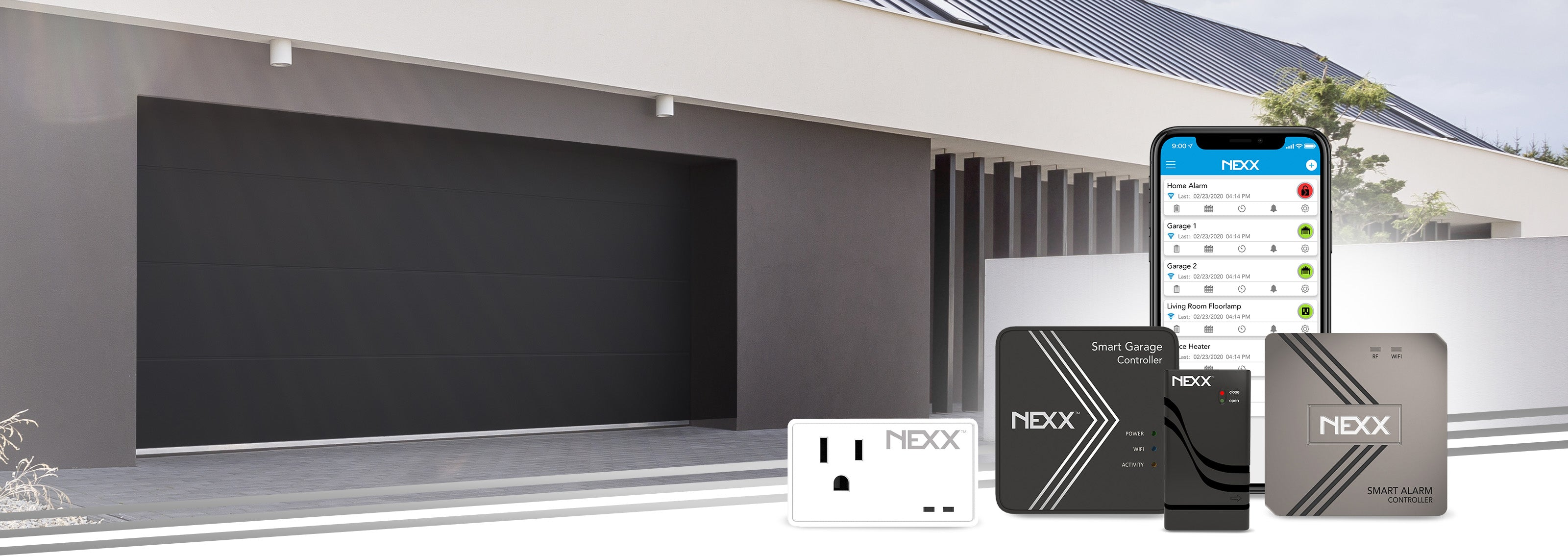 Smart Products equal Control plus Peace of Mind Nexx Smart Home Devices