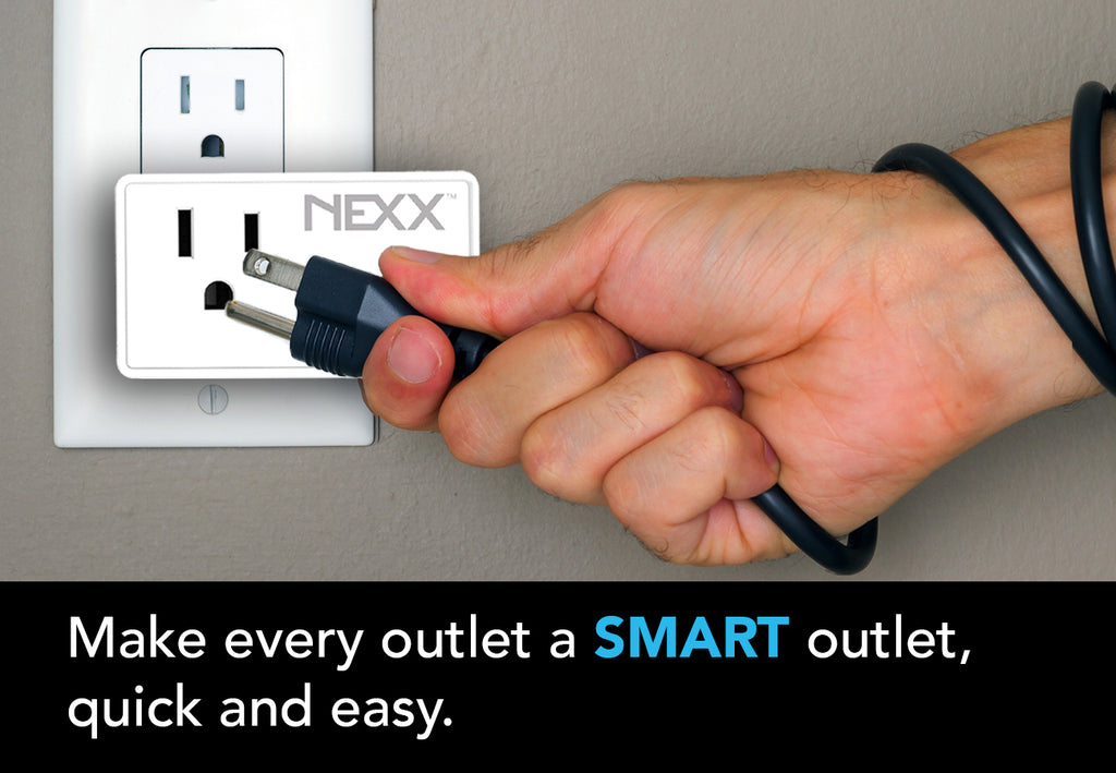 make every outlet smart with Nexx Plug