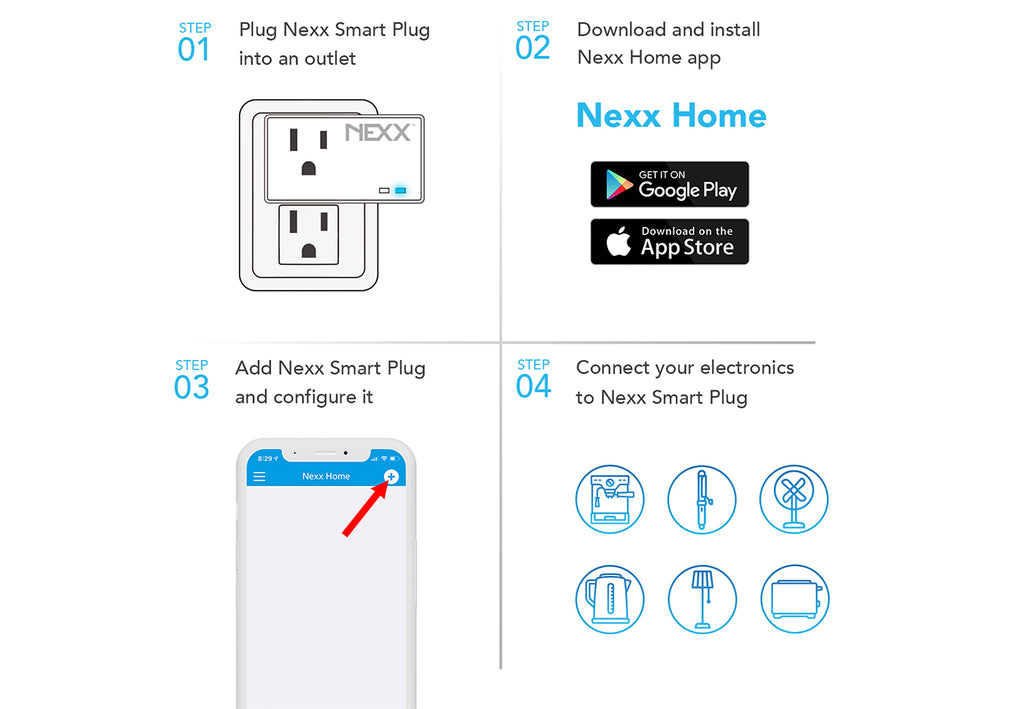 setup Nexx instructions Smart Plug