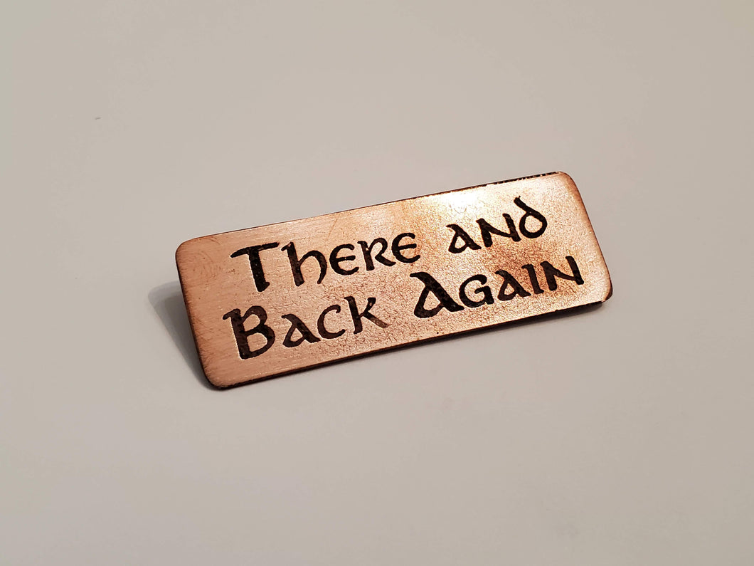 There and Back Again - Pin