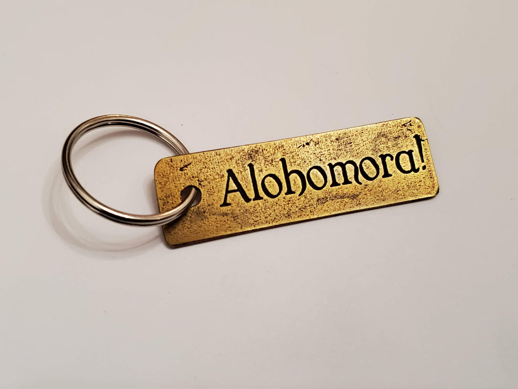 Alohomora! - Key Chain