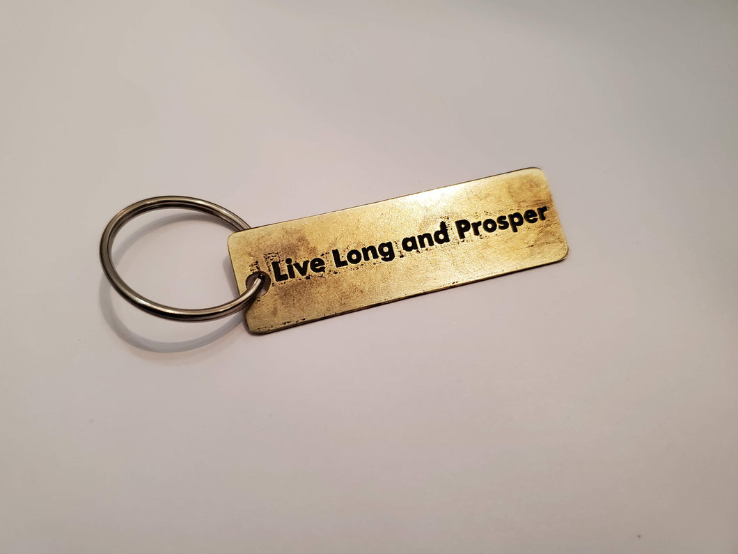Live Long and Prosper - Key Chain