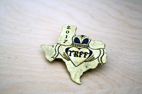 TRFF 2018 Texas Medallion Pin