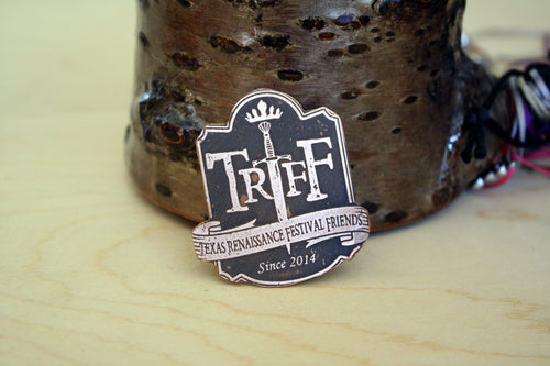 TRFF Medallion Pin
