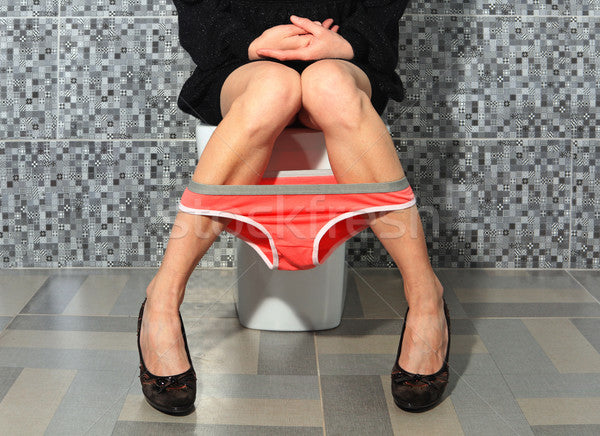 How to use a public restroom safely?