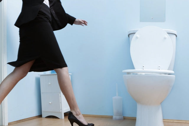 5 things you didn't know you were doing wrong in the restroom.