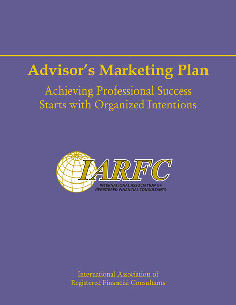 Advisor's Marketing Plan Book, FPP 102