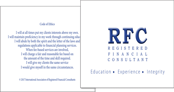 RFC Formal Note Cards