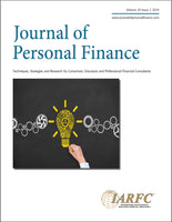 Journal of Personal Finance, Volume 18 Issue 2, 2019