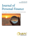 Journal of Personal Finance,  Volume 15 Issue 1, 2016