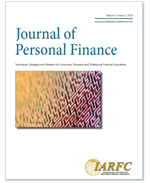 Journal of Personal Finance, Volume 15 Issue 2016